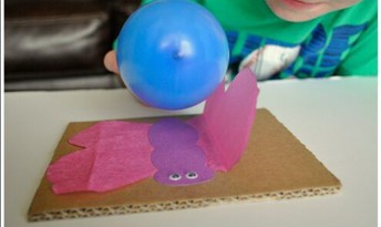 Grades K-2: Static Electricity Butterfly Experiment (Physical Science)