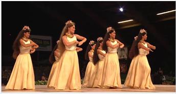 Hawaiian Hula Competition