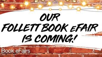 Mill Valley's Follett Book eFair, October 19th - 31st