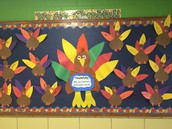 Kindergarten Thankful Turkeys