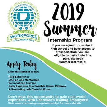 Summer Internships for Students