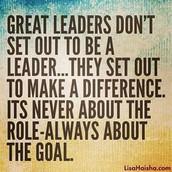October Fall Leadership Growth...