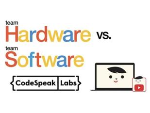 Team Hardware vs. Team Software