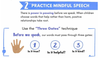 Practice Mindful Speech