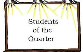 Quarter 1 Student Celebrations @ TEWMS