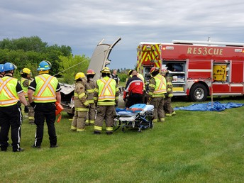 The Jaws of Life were used during the demonstration!