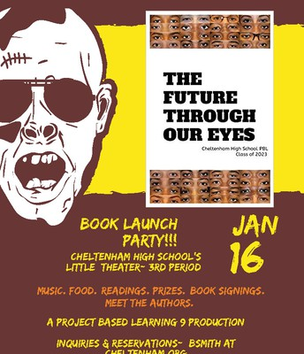 Book Launch Party |The Future Through Our Eyes