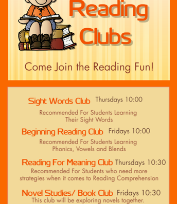 Reading Clubs