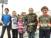 PBIS Punch Card Winners