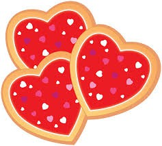 Heart Shaped Cookie Sale for Valentine's Day!