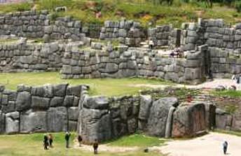 INCA RUINS OF SAQSAYWAMAN