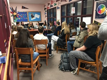 Class of 2017 Discussion with SKHS Juniors