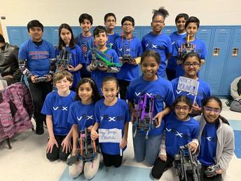 Robotics Club Are Winners!