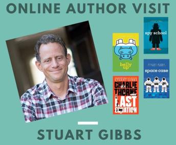 Stuart Gibbs Author Visit