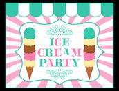 4th Grade Ice Cream & Yearbook Signing
