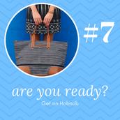 #7 - Get on hobnob