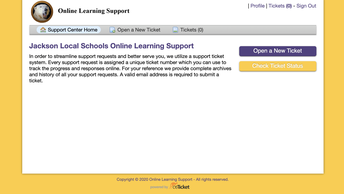 HELP DESK FOR eLEARNING