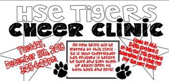 Cheer clinic 2018
