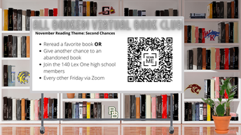 Join ALL BOOKED! District-Wide Virtual Book Club