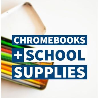 Chromebook-school supplies graphic