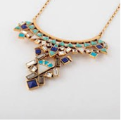 Stone Tile Necklace