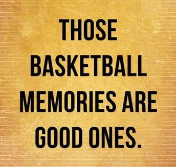 Basketball Memories