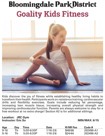 Fitness Class for Kids
