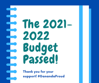 The 2021-2022 Budget Passed!