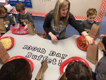 100 Days for Head Start at CCPS