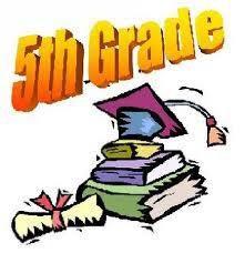 5th Grade Families - Mark your Calendar!!