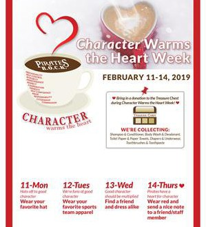 Character Warms the Heart Week