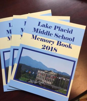 Lake Placid MS Publishes Memory Book