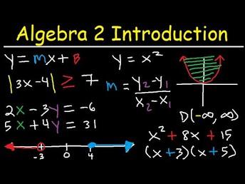 Bridge to Algebra 2: Summer Jumpstart 2020