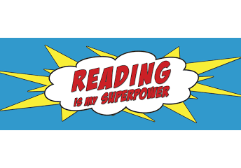 Be a Superhero, Read!
