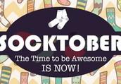 Socks + October = SOCKTOBER