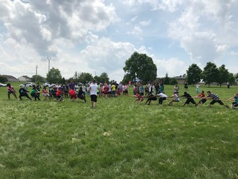 4th grade tug of war!