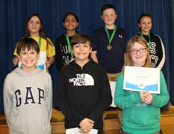 Spelling Bee Winners Grade 5