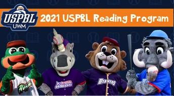2: United Shore Professional Baseball League Reading Program at Home
