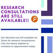 Research consultations Still Available Graphic