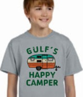 Check out our Happy Camper Spirit Shirts!