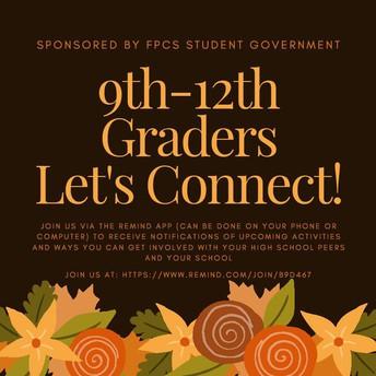 FPCS HS students connect