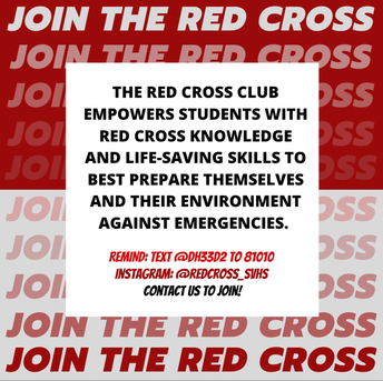 Join The Red Cross Club!