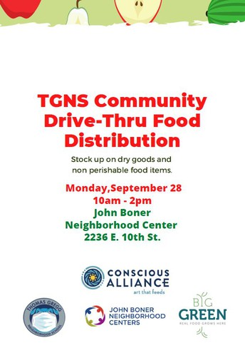 TGNS Community Food Drive