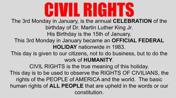 Civil Right Slide from LHS