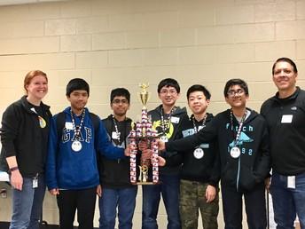 Regional Science Bowl Winners!