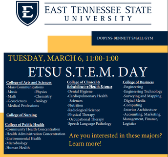 ETSU STEM Day