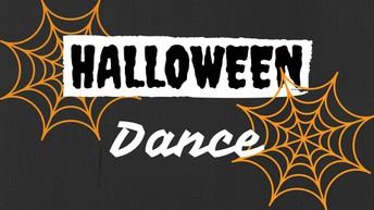 Halloween Dance Tonight!