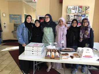 Sisters Steppin Up Bake Sale at IFN