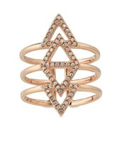 Pave Spear Ring - Small/Medium
