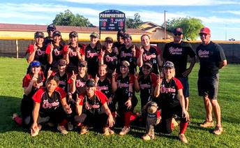 COYOTE SOFTBALL advances in the STATE PLAYOFFS